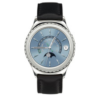 Samsung - Gear S2 Classic Smartwatch 40mm Stainless Steel - Platinum