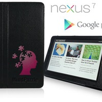 Debossed TEXT Nexus 7 Smart Case